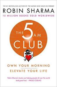 The-5-AM-Club-by-Sharma-Robin-NEW-Book-FREE-amp-Paperback