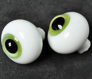 Pink Iris/&Blue Pupil for Iplehouse Luts BJD Doll Nice 14mm Glass BJD Eyes
