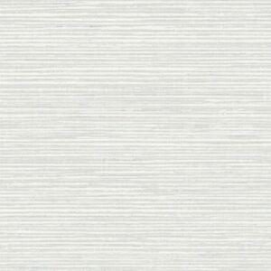 Tapete-Designtapete-Textilfaeden-Streifen-Schimmer-Sahne-Kiesel-Flanell