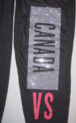 Rhinestone Jogger Afslappet Secret Fit Grey Sweatpants Nwt Canada Bling Victoria's UIYAAq