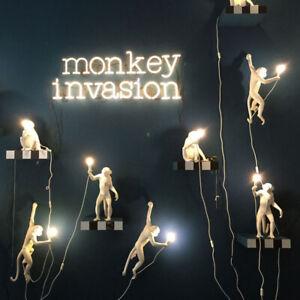Modern Monkey Table Lamp Nordic Aap Light Resin Simian