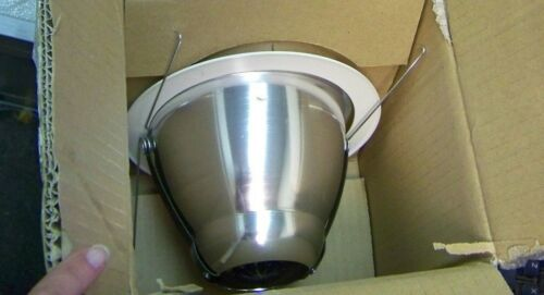 Capri Lighting RMA100CLR 6 Inch Trim With A-Lamp Reflector; Insulated//Non-Ins