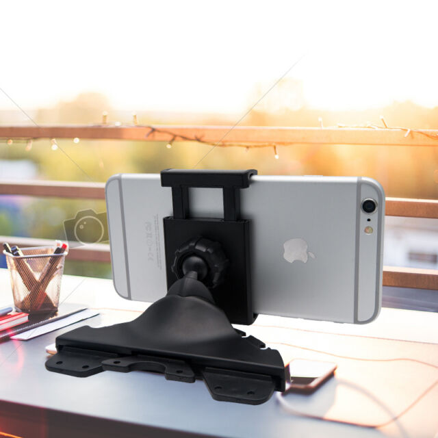 Universal Car CD Slot Phone Mount Holder Stand Cradle For iPhone Android Mobiles