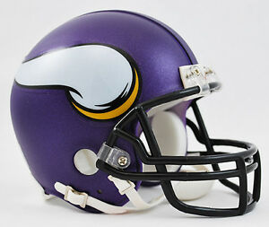 MINNESOTA VIKINGS NFL Authentic Riddell VSR-4 ProLine Mini Football ... eec436940