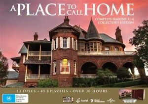 A-Place-To-Call-Home-Season-1-4-DVD-13-Disc-Set-NEW-Collector-039-s-Book