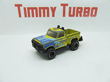 MATCHBOX FORD FLARESIDE PICK UP TRUCK 460 IN YELLOW AND BLUE
