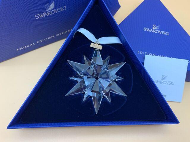 Swarovski Figurine 5257589 Christmas Star 2017 Large 7,7 Cm. New