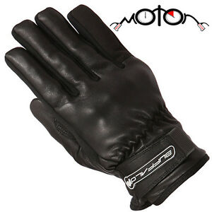 Buffalo-Cruise-Motorcycle-Gloves-Leather-Waterproof-Breathable-Thinsulate-Lining