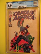Marvel Comics Captain America # 111 March 1969 CGC Grade 6.0 Jim Steranko Artist