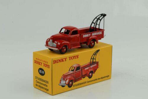 Studebaker Abschleppwagen LKW Depannage rot Ref 25 R 1:43 Dinky Toys Atlas
