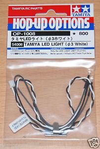 Tamiya-54008-LED-Light-3mm-White-Use-with-TLU-01-amp-TLU-02-NIP