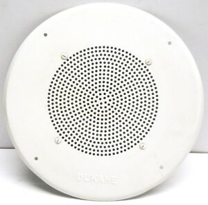 Awesome Image Is Loading DUKANE CEILING SPEAKERS MODEL 6A634