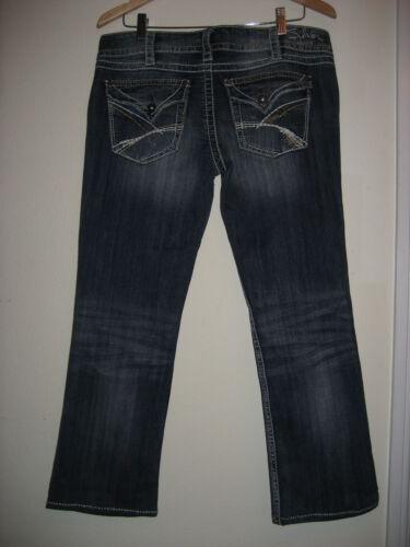 Bootcut X 5 rise 27 Slim Silver Jeans Low mckenzie Designer 31 Taglia vTx1XqS1H