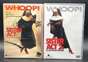 DVD: raccolta Sister Act 1-2 (1 + 2) tedesco completo