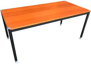 Ikea Effektiv Tisch In Goldbraun 160x80cm Ebay