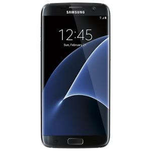 Samsung Galaxy S7 Edge 32GB - Onyx Black - (Verizon) Smartphone SMG935VZKA