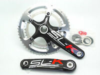 New FSA SL-K Light Carbon 53/39T 170mm 10 Speed BB30 Crankset (Red Decal)