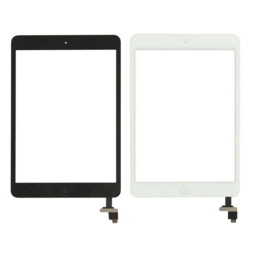 For iPad Mini 1 2 Touch Screen Glass Digitizer Replacement IC+Home Button