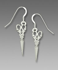 Sienna Sky Antique SCISSORS EARRINGS Sterling Silver Earwires Sewing  Gift Boxed
