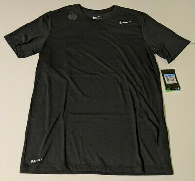 Nike Dri Fit Men/'s Athletic Cut T Shirt Dark Blue Polyester 718588 476