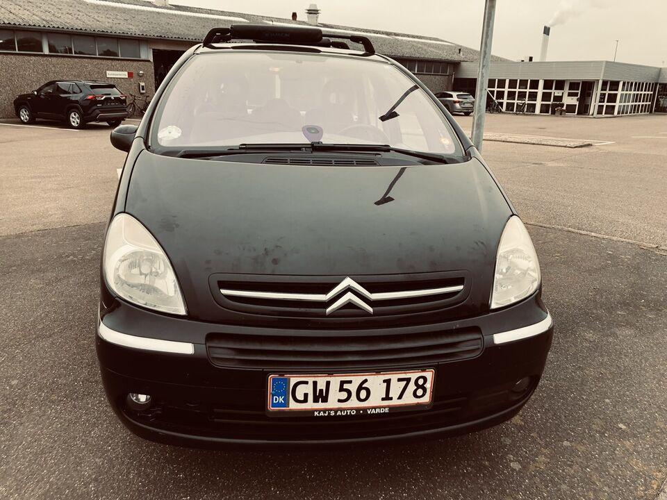 Citroën Xsara Picasso, 1,6i 16V 110 Exclusive, Benzin