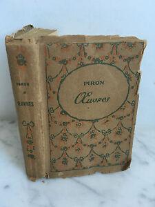 Piron Cuentos Poemas - Varias Ediciones Nilsson París