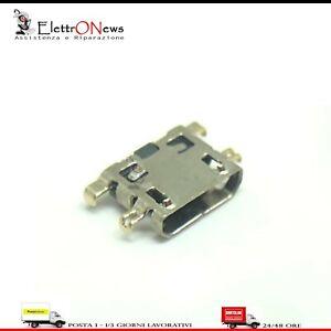 Connettore di ricarica Micro usb spinotto per Alcatel 1s 5024d Plug-in A113