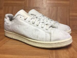 online store d1864 828aa Details about RARE🔥 Adidas Stan Smith Flowers Lace Retro Sneakers Sz 9.5  Lace White LE VNTG