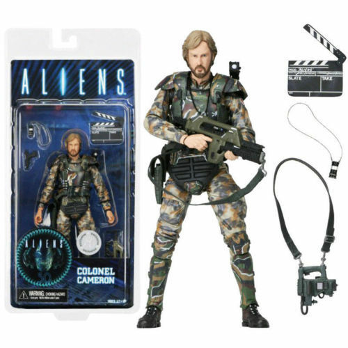 NECA 30TH ANN ALIENS COLONEL DIRECTOR JAMES CAMERON EXCLUSIVE ACTION FIGURES TOY