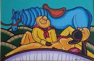 Carlos-Eric-Untitled-Acrylic-on-Canvas-20X30-Original-Painting-Cuban-Art-2001