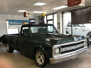 1969 CHEVROLET C10 LONG BOX REAR AIR SUSPENSION SUPERSPORT?