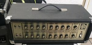 VINTAGE-AMPEG-SR4-FOUR-CHANNEL-SOUND-REINFORCED-AMPLIFIER