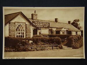 THE-OLD-SMITHY-GRETNA-GREEN-C349-POSTCARD