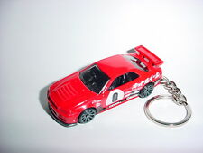 NEW 3D RED NISSAN SKYLINE GT-R R34 CUSTOM KEYCHAIN KEY chain KEYRING ring GTR!