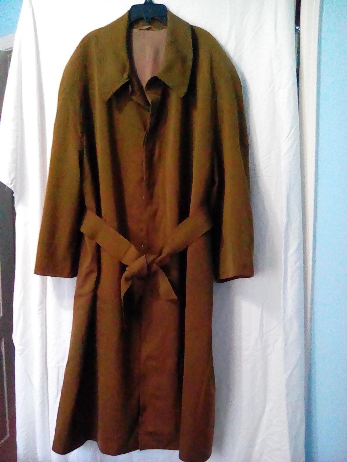 FALKE Women BLong Trench Coat Size 54