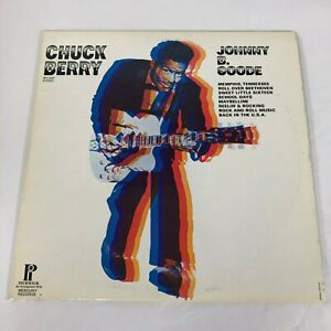 Chuck-Berry-Johnny-B-Goode-Pickwick-1972-SPC-3327-RE-33RPM-Vinyl-LP-Strong-VG