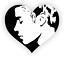 Window Laptop etc Justin Bieber Themed Sticker We Love Bieber Stick to Mirror
