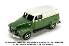 N SCALE: 1/2 TON PANEL DELIVERY TRUCK - SHOWCASE MINIATURES #33