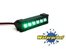 Gear Head RC 1/10 Scale Six Shooter Water Proof LED Light Bar - Green GEA1174