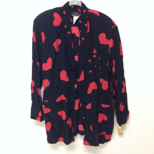 Jacket Size Little Heart Nwt 6 Women's Carole qc5wCnSZH