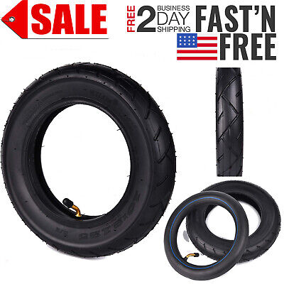 UMPARTS Rear 10 innertube 10 inch inner tube with bend valve for SwagCycle Fold
