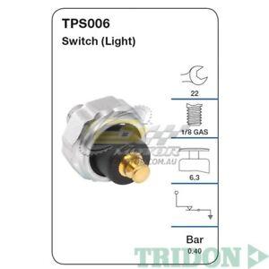 TRIDON OIL PRESSURE FOR Toyota Hiace 10//89-01//99 2.4L 2RZ SOHC 8V  TPS008