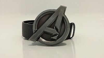 The Avengers Belt Buckle Marvel | With Optional Snap On Belt | Nickle