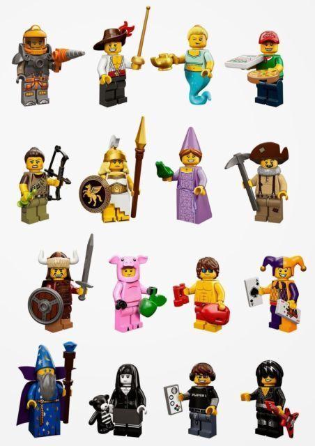 ultimi stili LEGO Minicifras Series 12 completare Set 16 minicifras 71007 71007 71007 Piggy suit giocor  qualità ufficiale