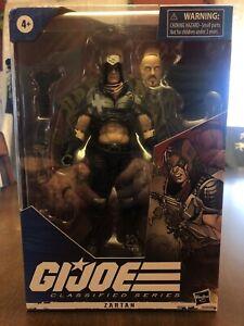 Hasbro GI Joe Classified Series Cobra in Hand Zartan 6 inch Action Figure-