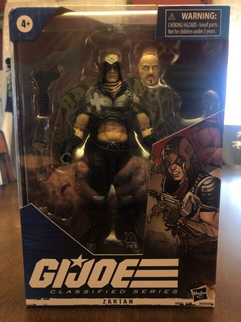 Hasbro GI Joe Classified Series Cobra in Hand Zartan 6 inch Action Figure-
