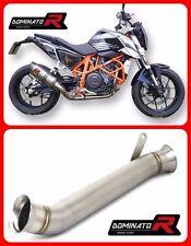 DECAT Cat Eliminator Pipe Exhaust KTM 690 DUKE 12-15 Stainless Steel