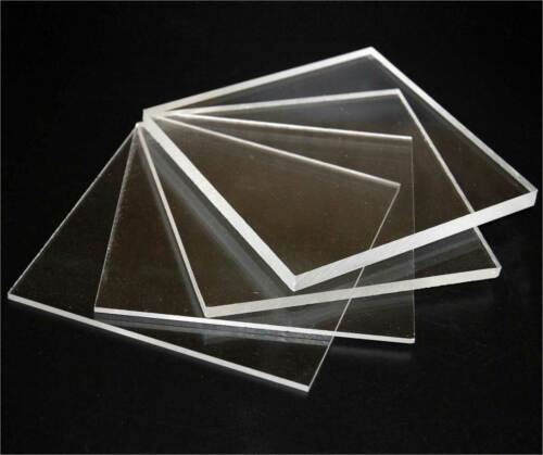 """1//4/"""" Thick You Pick The Size Clear Acrylic Plexiglass Plastic Sheet 0.220"""""""