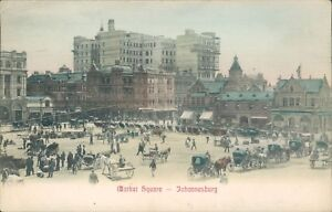 Johannesburg market square PS & Co 1906