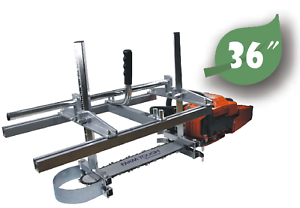 36-Inch-Portable-Chainsaw-Mill-Log-Planking-Lumber-Cutting-14-034-36-034-Guide-Bar